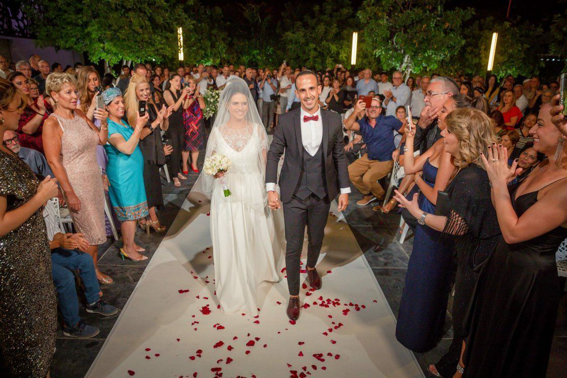החתונה של ניב ותמר הנדלמן
