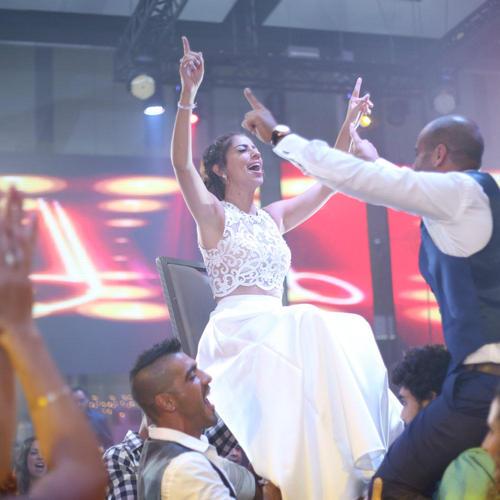 החתונה של נורית ואיל. צילום: ליאור שי