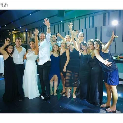 החתונה של בת חן ואלירן. צילום: ינאי רובחה