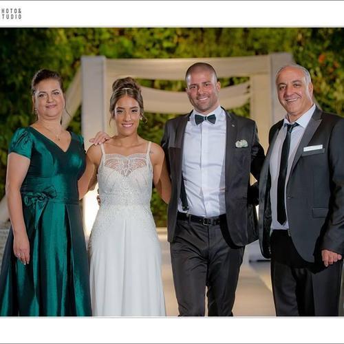 החתונה של בת חן ואלירן. צילום: ינאי רובחה | האחוזה מודיעין