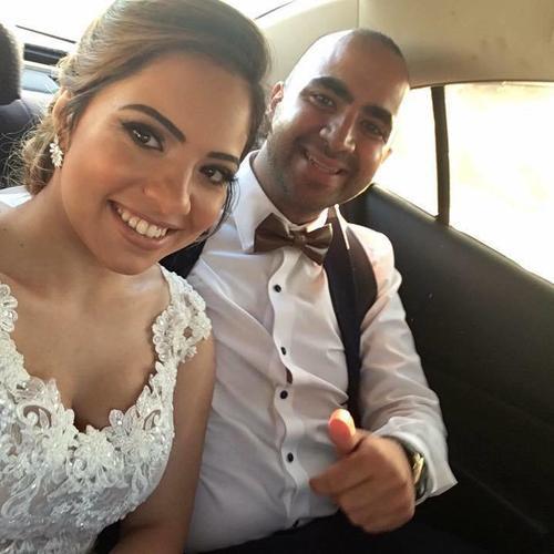בדרך לאולם - החתונה של שושי ואורן