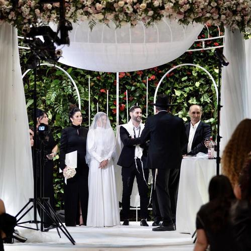 החתונה של ענבר ועמית