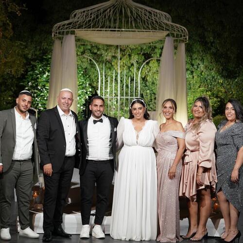מתוך החתונה של עדן וניר | האחוזה מודיעין